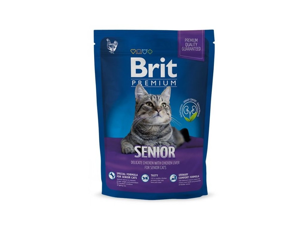 NEW Brit Premium Cat SENIOR 800g