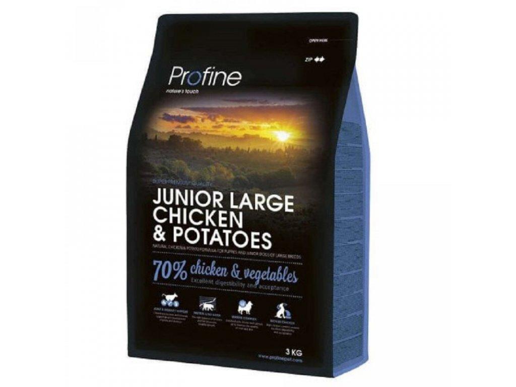 NEW Profine Junior Large Breed Chicken & Potatoes 3kg   Tenesco.cz