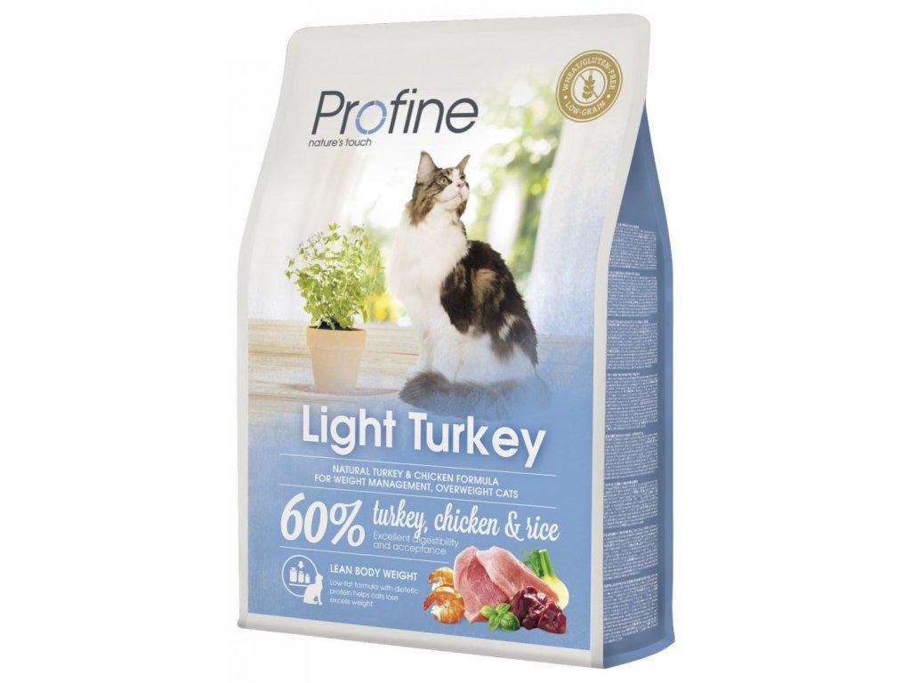 Profine Cat Light Turkey 2kg + pamlsky ZDARMA