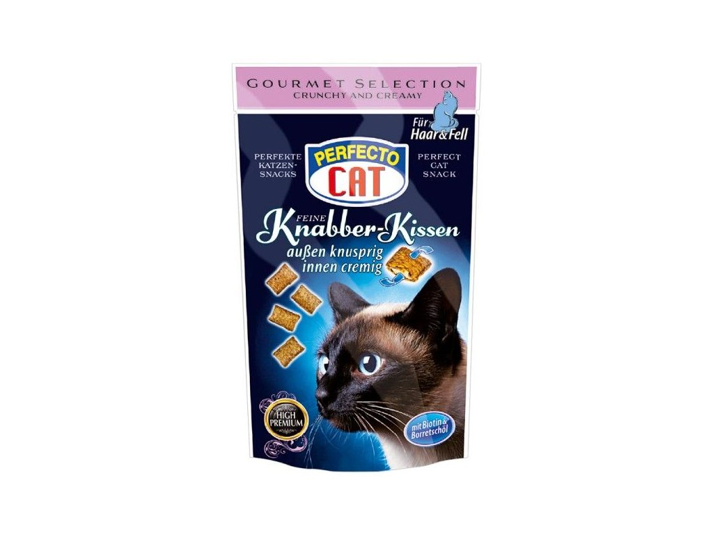 Perfecto Cat Plněné polštářky na srst 50g