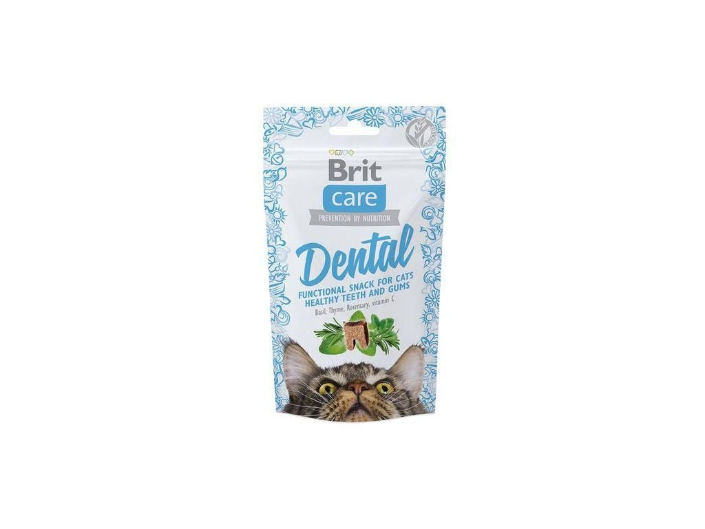 Brit Care Cat snack Dental 50g