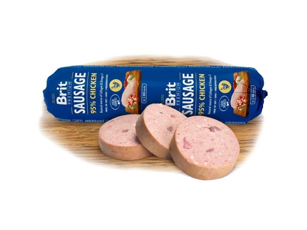 NEW Brit sausage chicken 800g