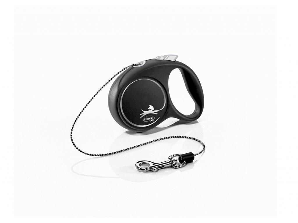 21157 flexi Black Design XS Cord 3m black