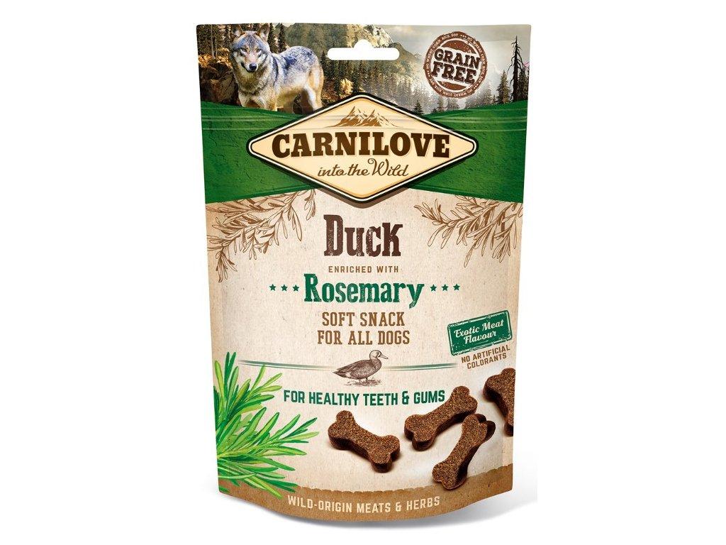 Carnilove Dog Semi Moist Snack Duck & Rosemary 200g