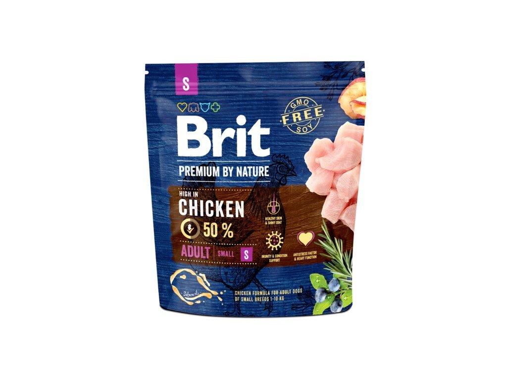 Brit Premium by Nature Adult S 1kg