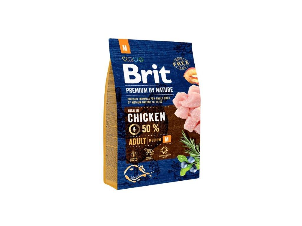 Brit Premium by Nature Adult M 3kg
