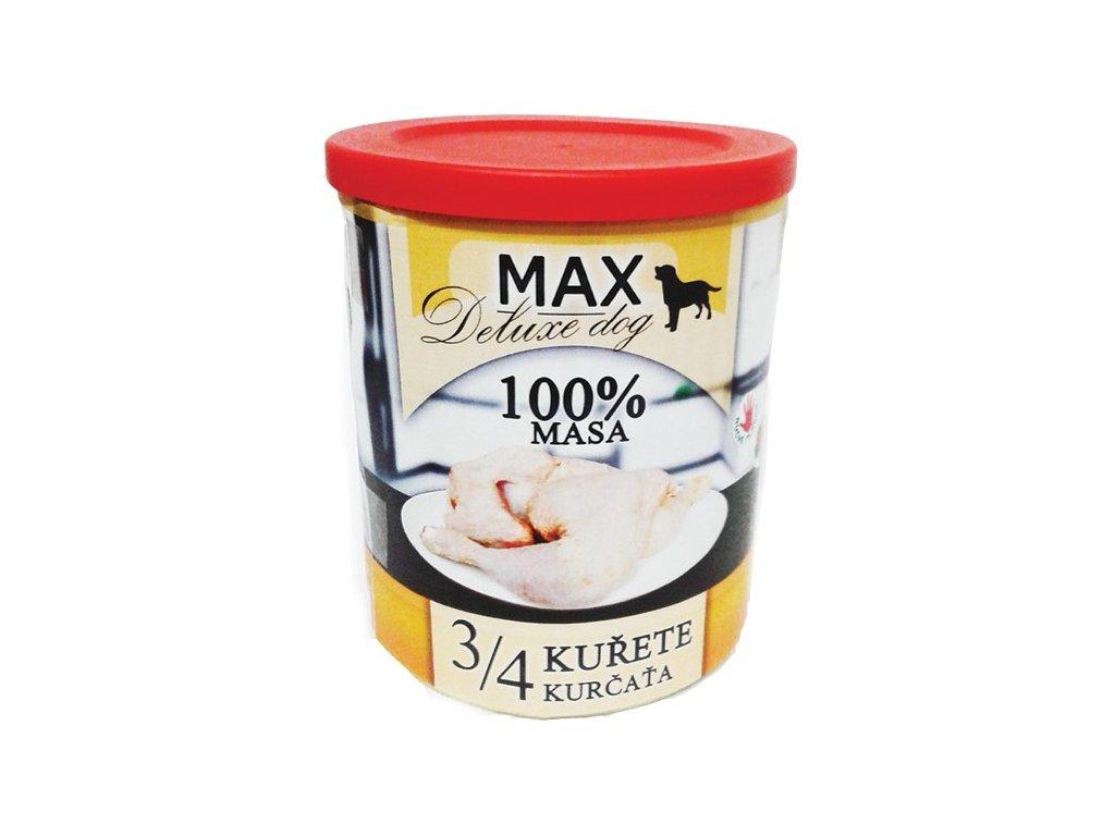 MAX deluxe 3/4 kuřete 800g