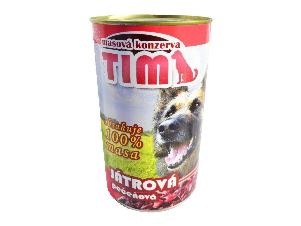 TIM dog játrová 1200g