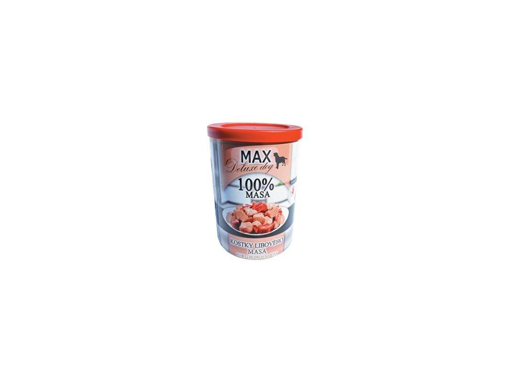 MAX deluxe kostky libové svaloviny 400g