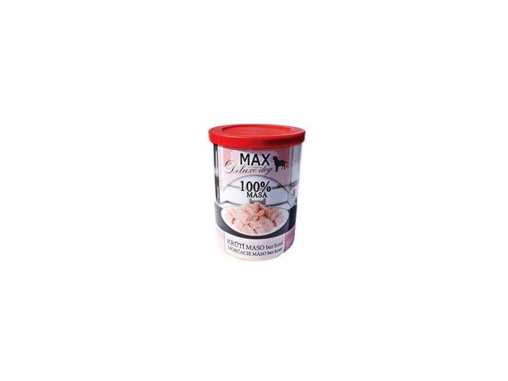 MAX deluxe krůtí svalovina bez kosti 400g
