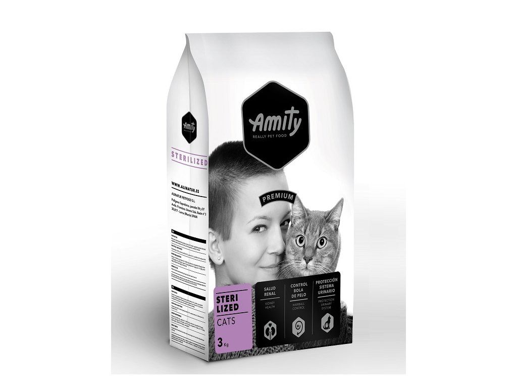 AMITY premium cat STERILISED 3kg