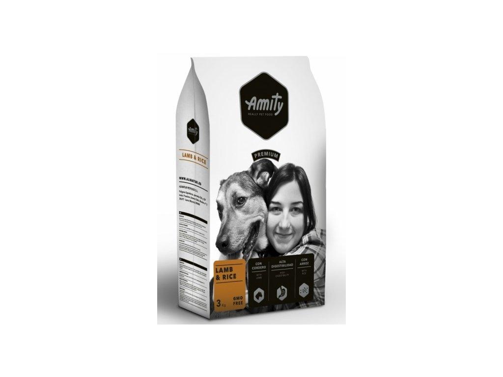 AMITY premium dog Lamb & Rice 3kg | Tenesco.cz