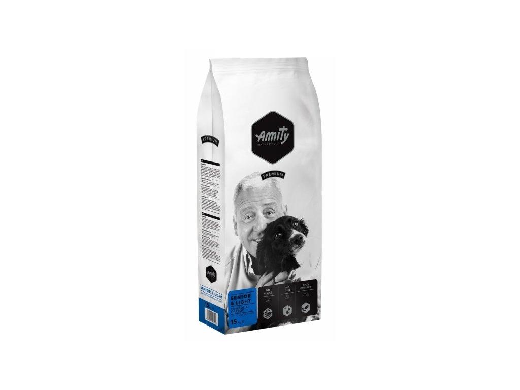 AMITY premium dog SENIOR Light 15kg | Tenesco.cz