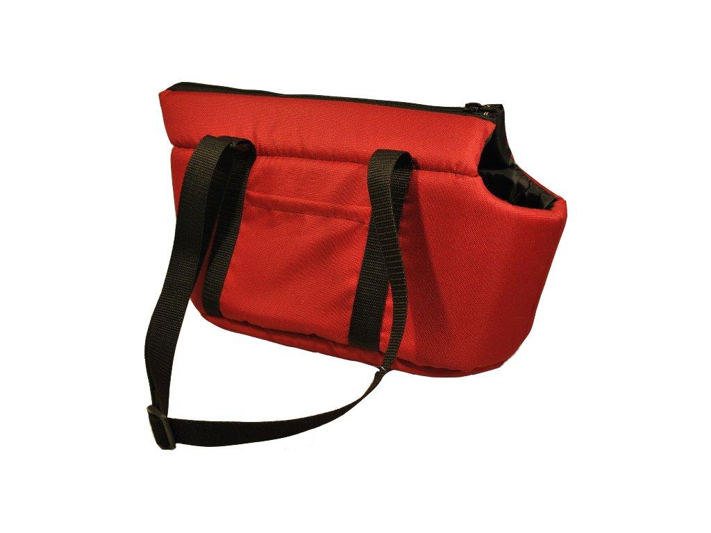 MAGNUM Taška Praktik s podšívkou 40cm (červená)
