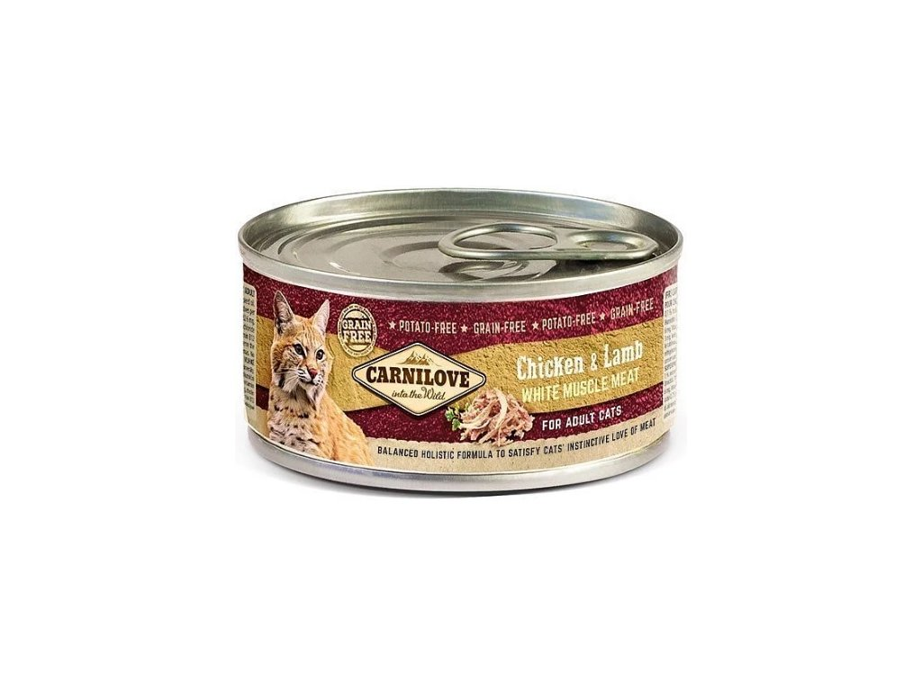Carnilove WMM Chicken & Lamb for Adult Cats 100g