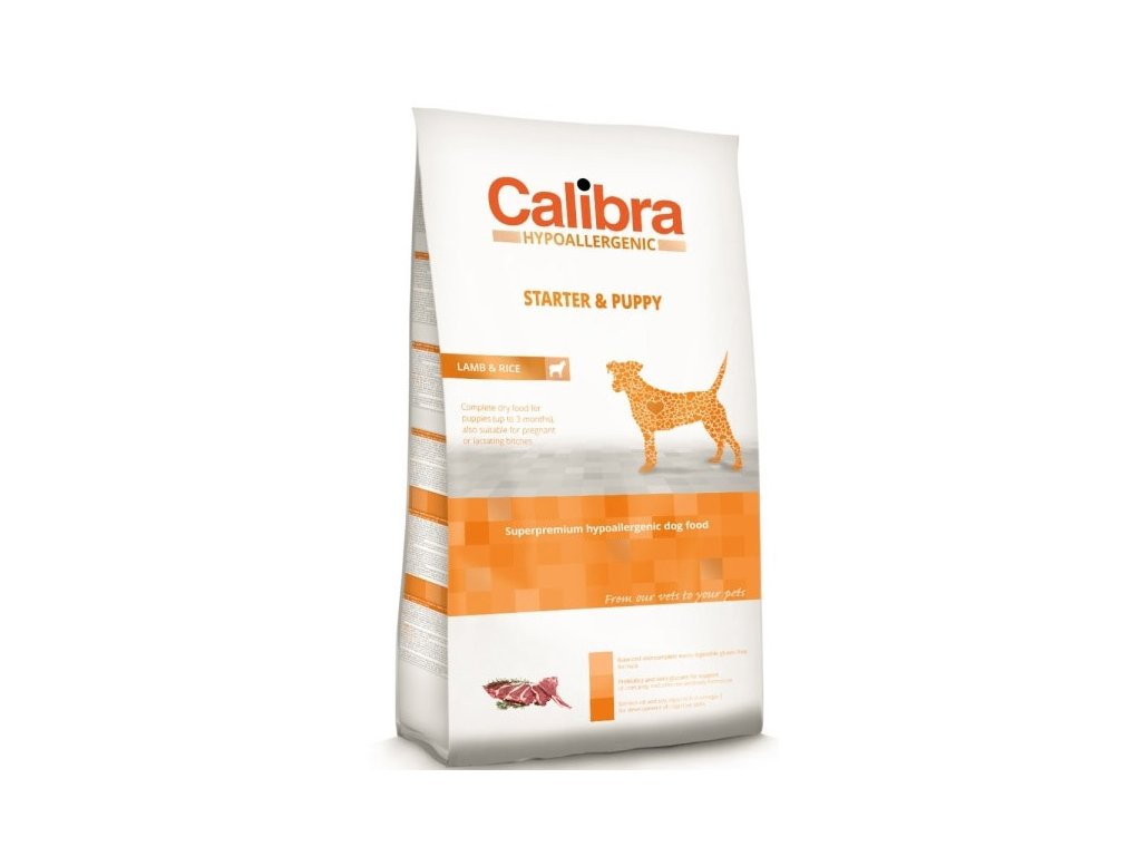 Calibra Dog Hypoallergenic Starter & Puppy Lamb 14kg