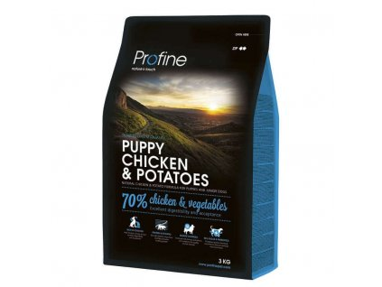 NEW Profine Puppy Chicken & Potatoes 3kg | Tenesco.cz