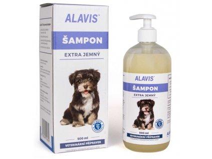 ALAVIS Extra jemný šampon 500ml
