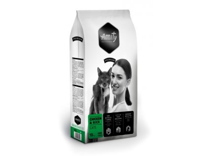 AMITY premium cat Chicken & Rice 10kg