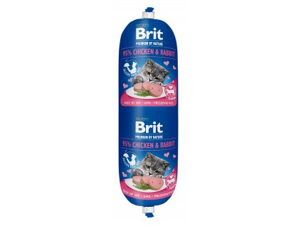 Brit Premium Sausage CAT Chicken & Rabbit 180g