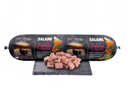 Profine 800g sausage product salmon