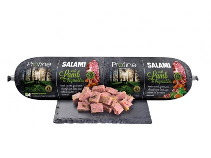 Profine 800g sausage product lamb