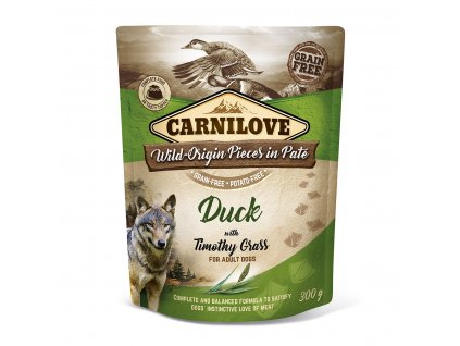 carnilove duck timothy grass
