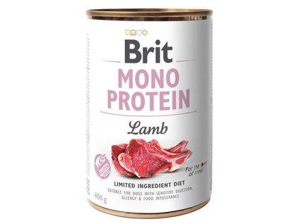 Brit Mono Protein Lamb 400g 5+1 ZDARMA