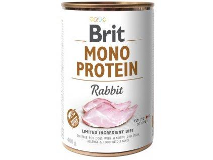 Brit Mono Protein Rabbit 400g 5+1 ZDARMA