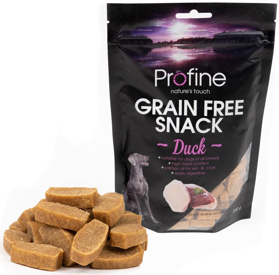 Profine Grain Free Snack Duck 200g 5+1 ZDARMA