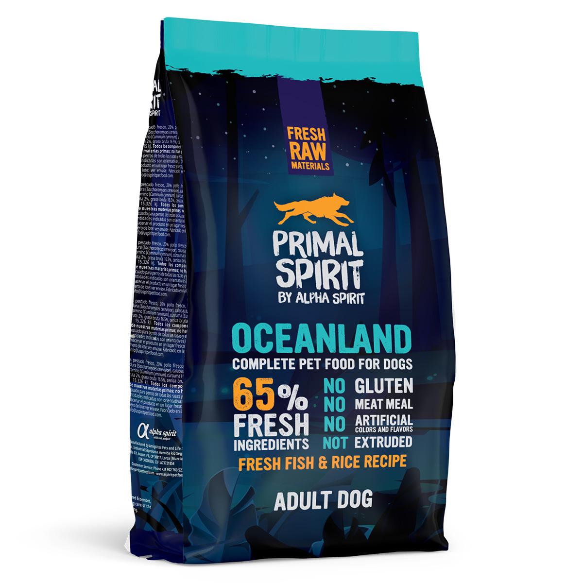 Primal Spirit Dog 65% Oceanland 1 kg