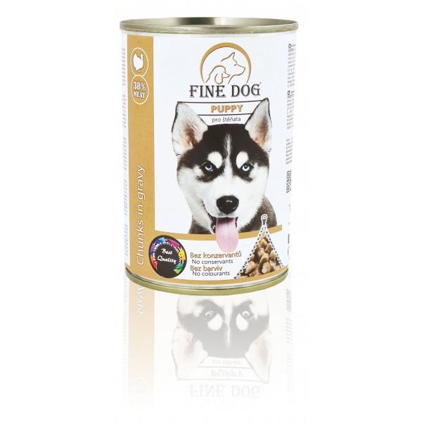Fine Dog Konzerva Puppy pro štěňata 415g