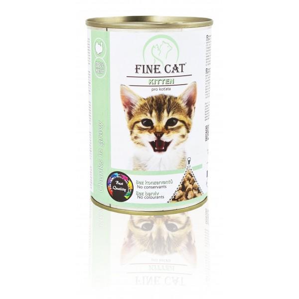 Fine Cat konzerva Kitten pro koťata 415g