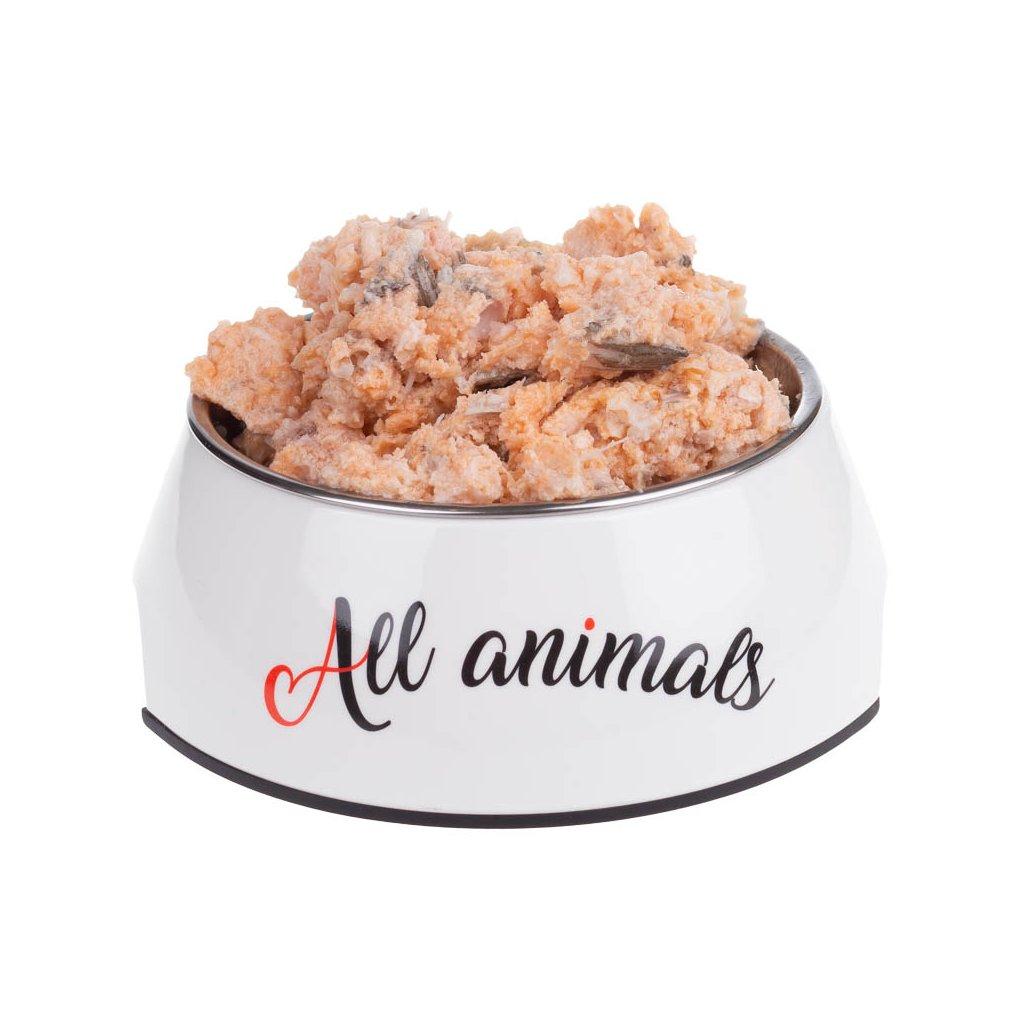 All Animals DOG losos mletý 200g