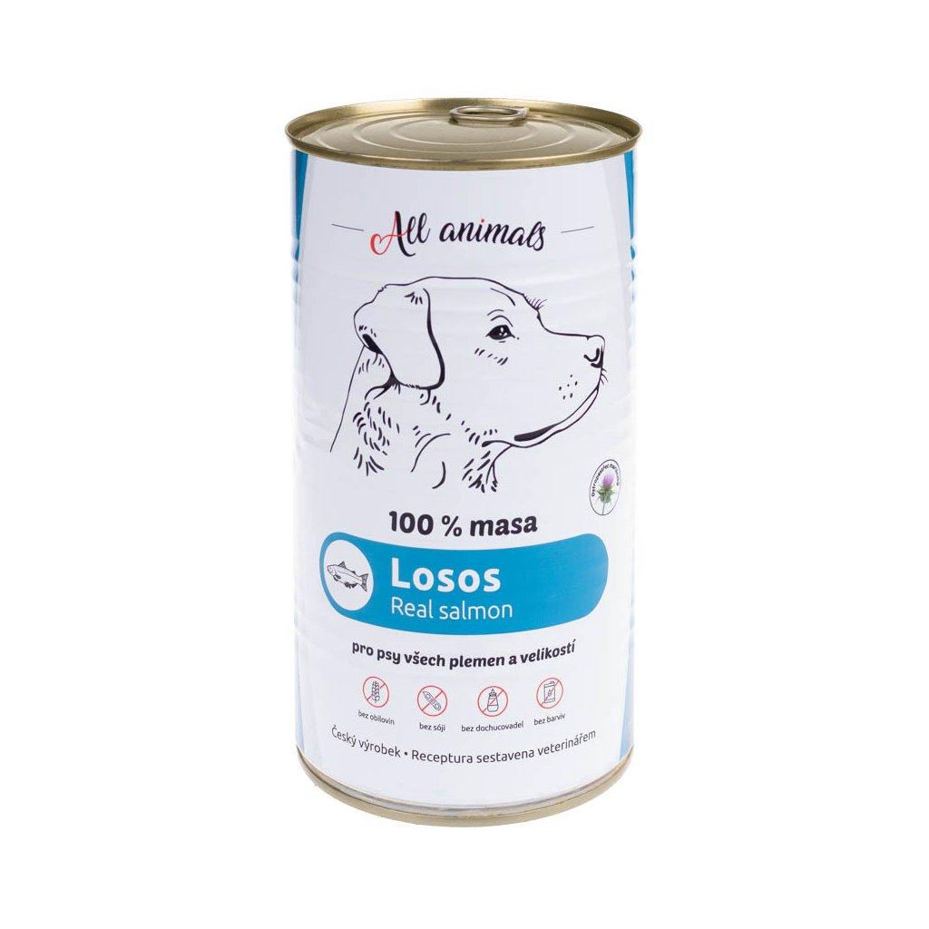 All Animals DOG losos mletý 1200g