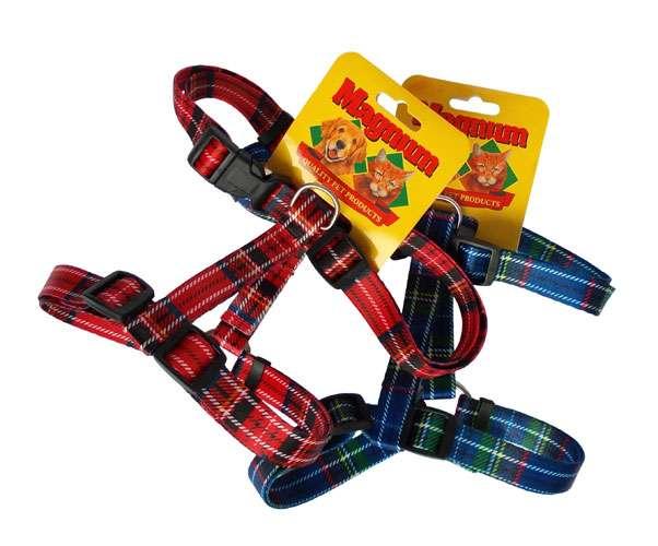 Postroj nylon skotský / kostičky 25mm x 45-60cm