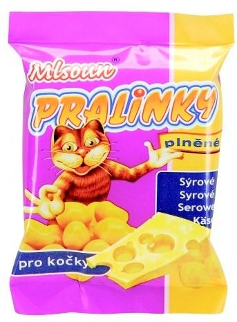 ML Mlsoun Cat pralinky sýrové 40g