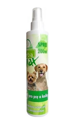 HERBA MAX Sprej Dog+Cat 200ml
