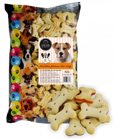 FINE DOG Bakery kostičky MIX Snack 500g prodejna