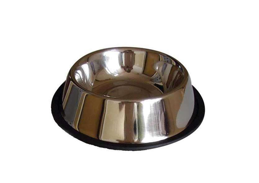 Nerezová miska pro kočky a štěňata 0,3l