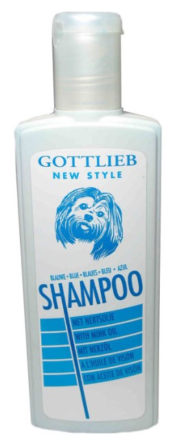 Šampon Gottlieb BLUE (bělící) 300ml