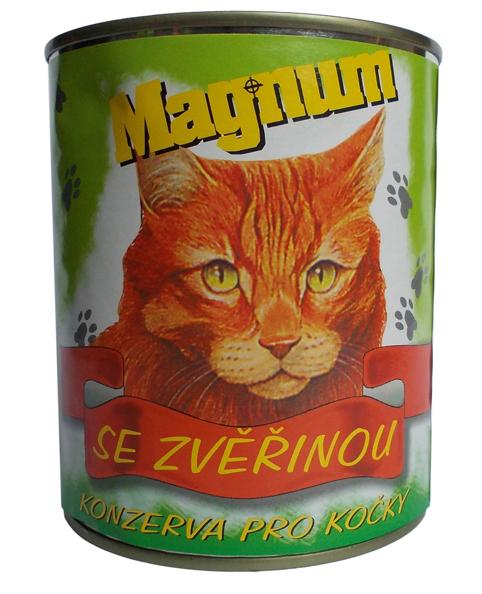 Magnum kočka zvěřina 855g