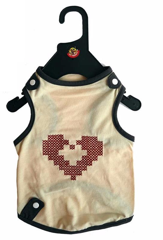 Obleček Heart 26 béžový