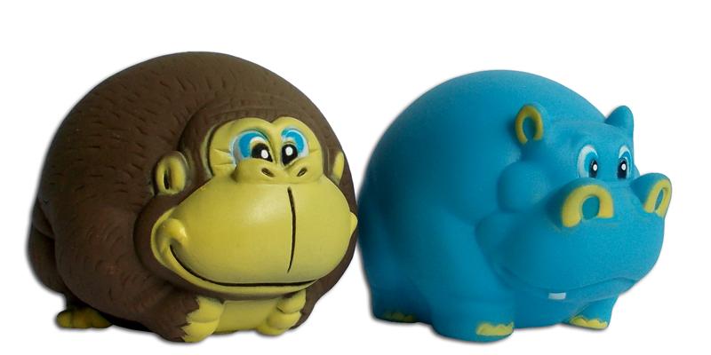 Opice, hroch (mix) 12cm
