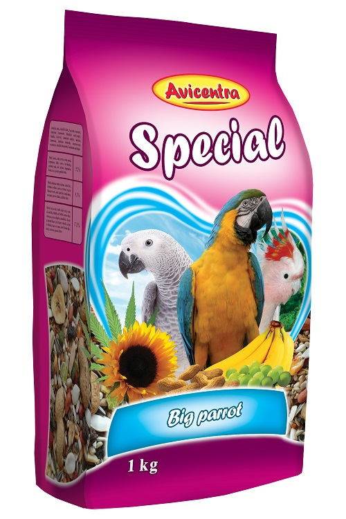 Avicentra Velký papoušek Speciál 15kg