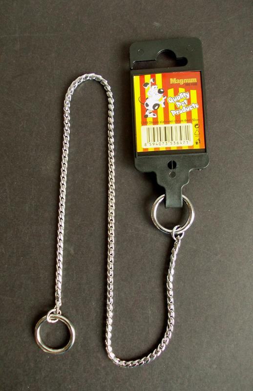 Obojek stahovací CHROM 4mm x 50cm