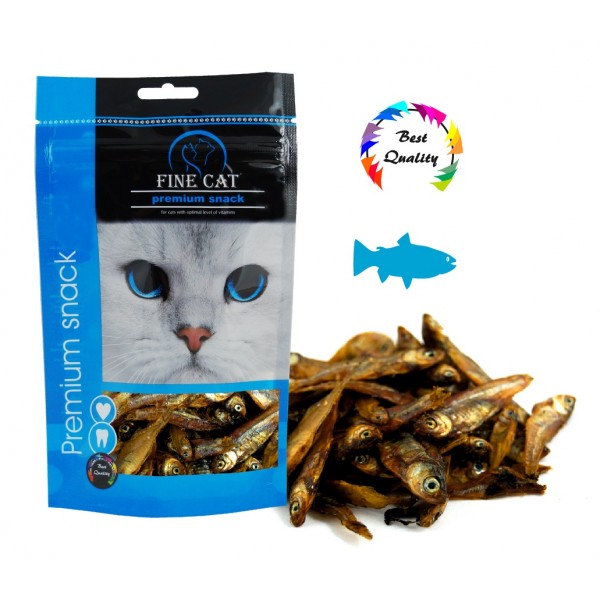 FINE CAT Rybička sušená 35g