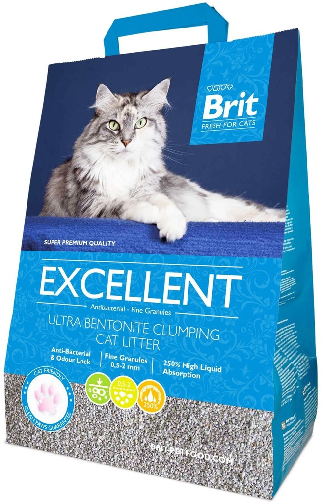 Brit Fresh for Cats Excellent Ultra Bentonite 10kg prodejna