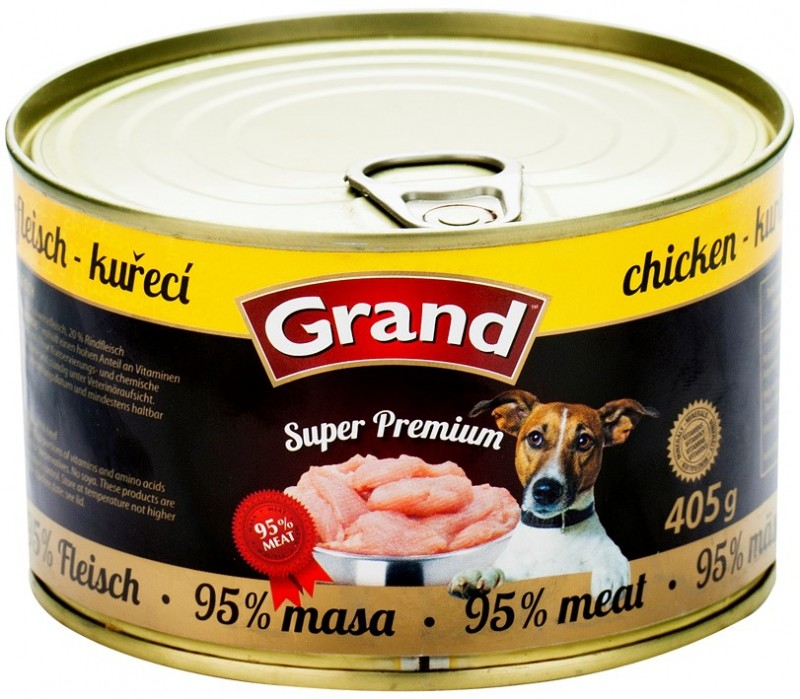 GRAND Superpremium kuřecí 405g