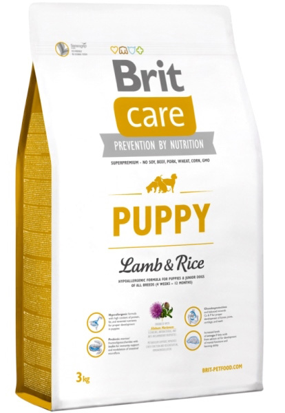 NEW Brit Care Puppy Lamb & Rice 3kg